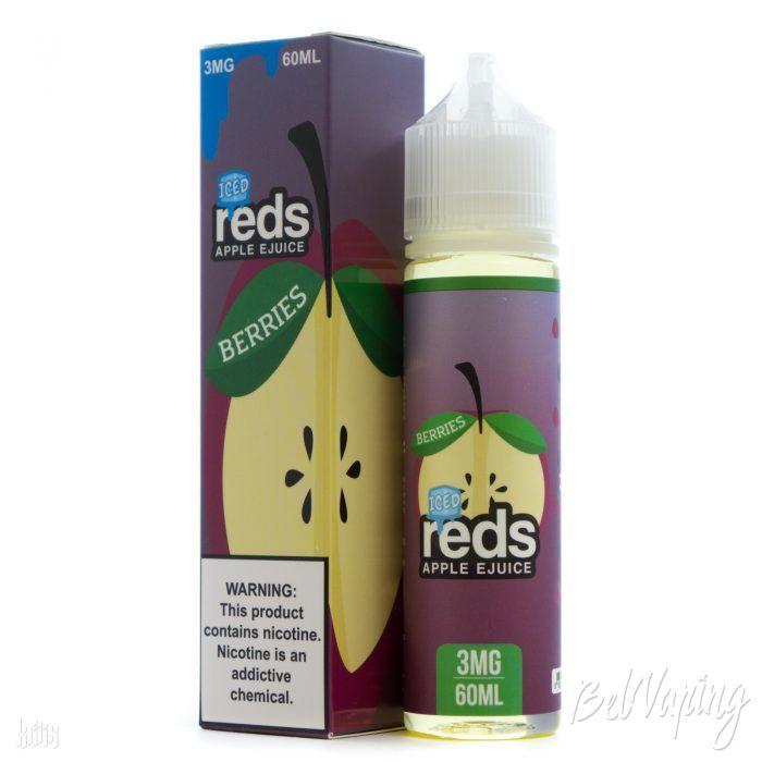 Жидкость REDS E-JUICE - ICED BERRIES APPLE
