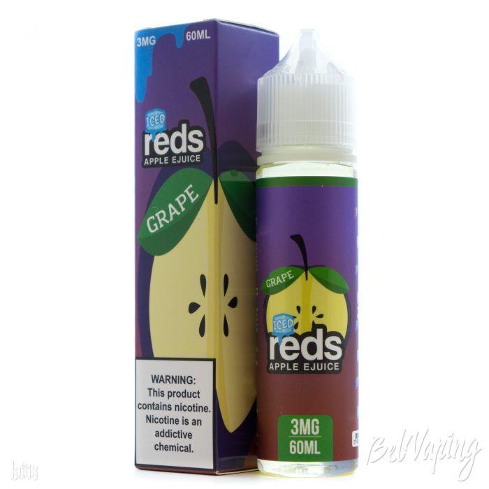Жидкость REDS E-JUICE - ICED GRAPE APPLE