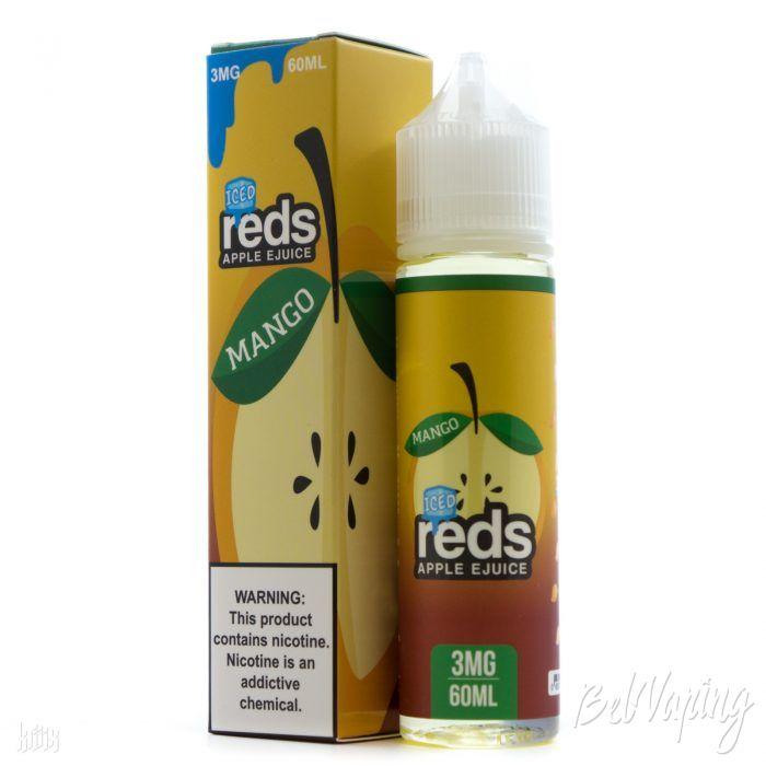 Жидкость REDS E-JUICE - ICED MANGO APPLE