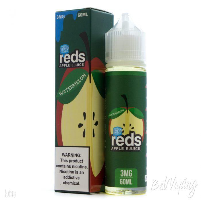 Жидкость REDS E-JUICE - ICED WATERMELON APPLE