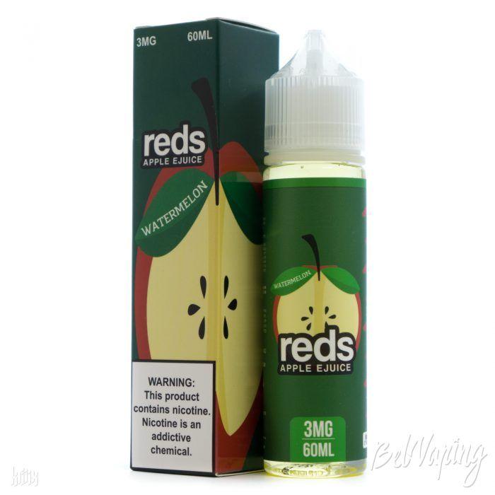 Жидкость REDS E-JUICE - WATERMELON APPLE
