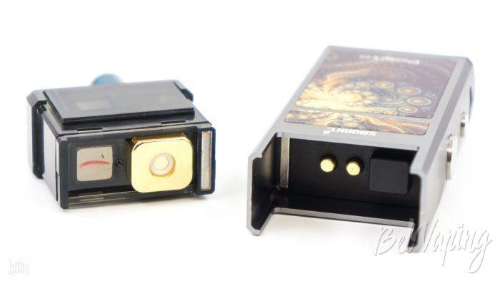 Соединение картриджа и батарейного блока Smoant Pasito Pod Kit