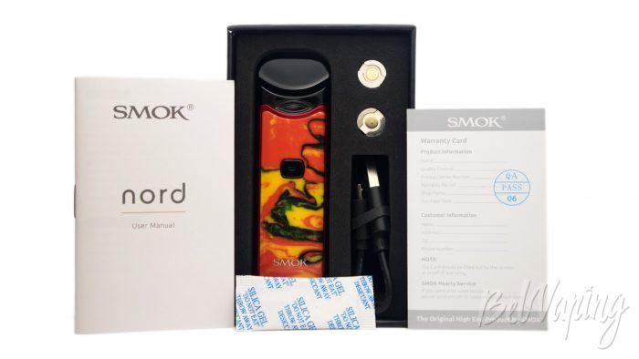 Smok NORD Kit - комплект поставки