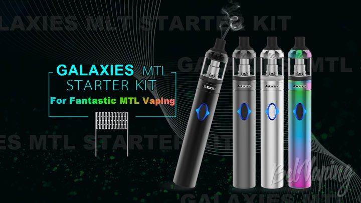 Vapefly Galaxies MTL Kit. Первый взгляд