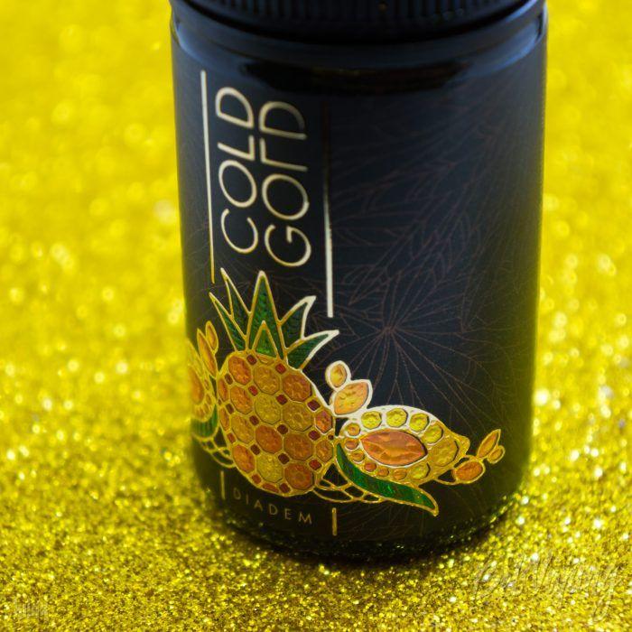 Этикетка жидкости COLD GOLD от Подвальчка Дяди Вовы