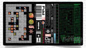 Этикетка от DAT PRODUCTION - FDD BOMBERMAN