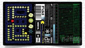 Этикетка от DAT PRODUCTION - FDD PAC-MAN