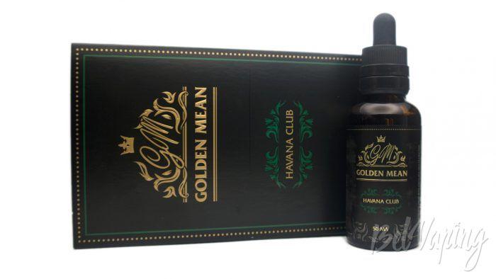 Жидкости Golden Mean - вкус HAVANA CLUB