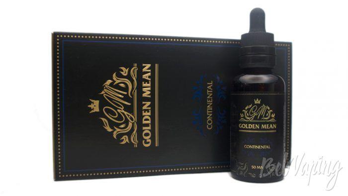 Жидкости Golden Mean - вкус CONTINENTAL