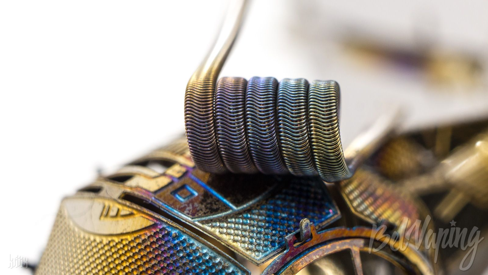 Тип спирали: Alien Clapton Coil (алиен коил)