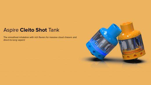Aspire Cleito Shot Tank. Первый взгляд