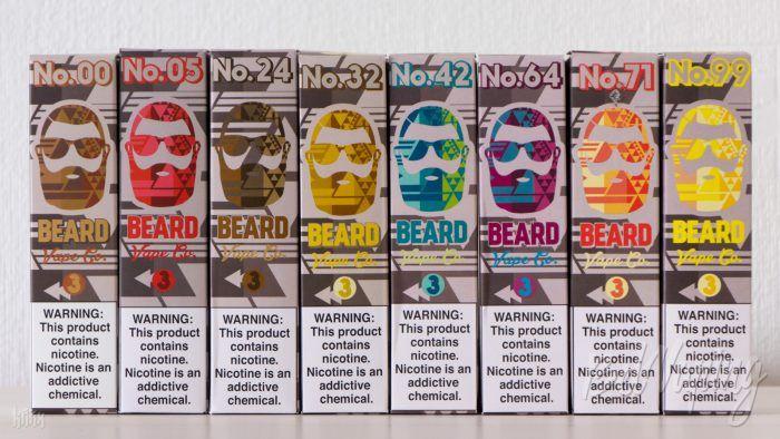 Линейка жидкости Beard от Beard Vape Co.