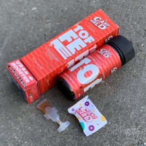 Тара и содержимое коробки жидкости Candy World от URBN