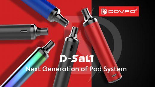 Dovpo D-Salt Pod. Первый взгляд