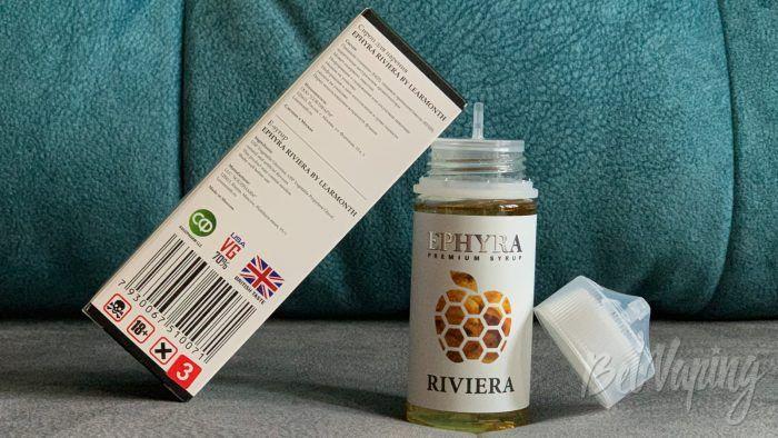Тара и упаковка жидкости Ephyra
