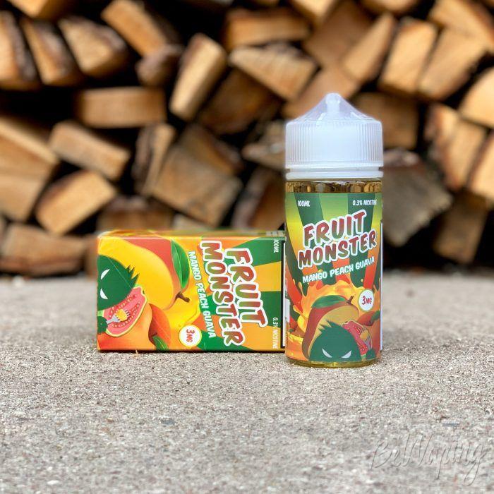 Жидкость Fruit Monster - Mango Peach Guava