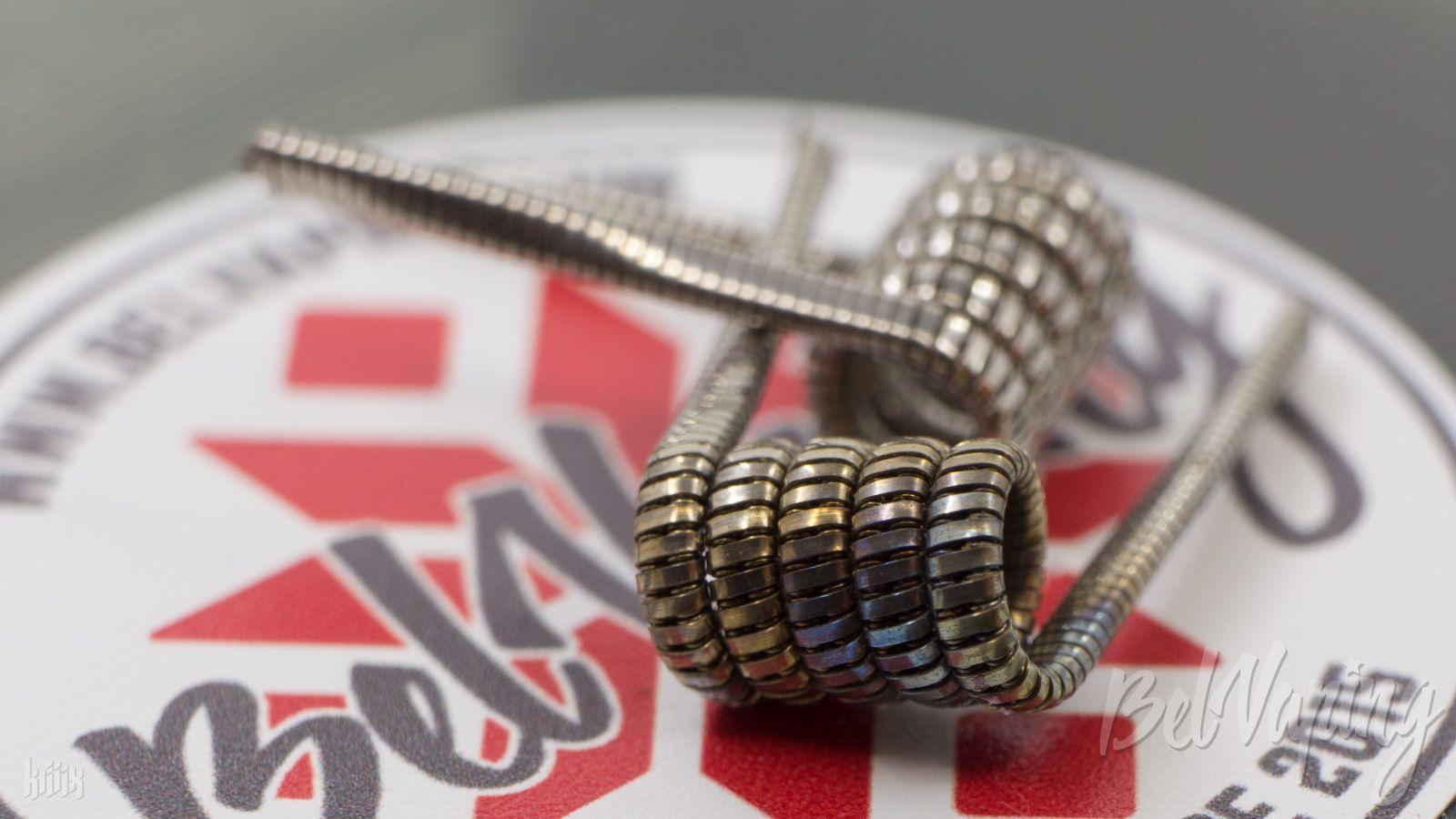 Тип спирали: Juggernaut Clapton Coil (джаггернаут коил)