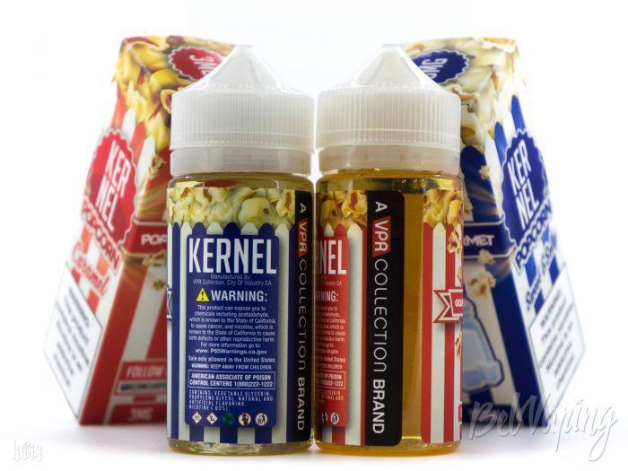 Этикетка жидкости Kernel от Skwezed