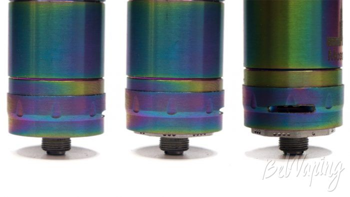 Клон KAYFUN PRIME - регулировка подачи воздуха и жидкости