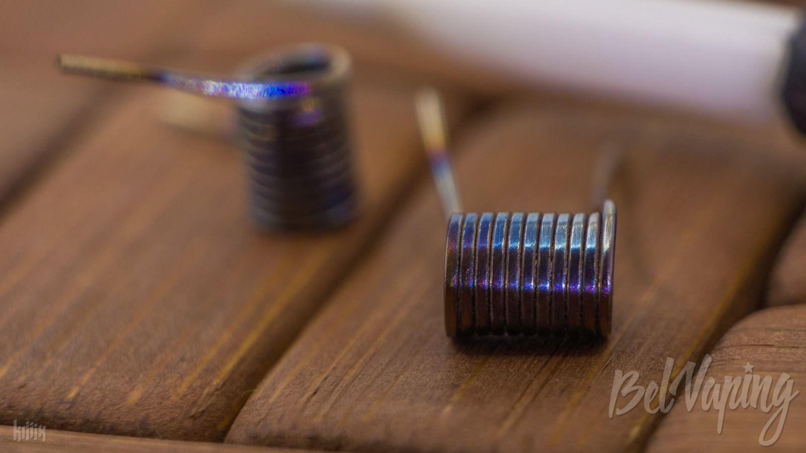 Тип спирали: Mirror Coil (мирроркоил)