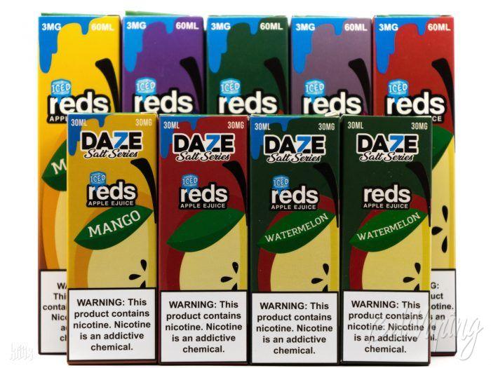 Жидкость REDS SALT SERIES