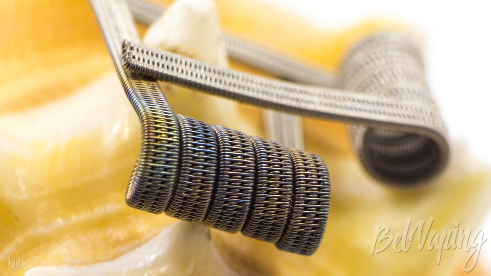 Тип спирали: Triple Staggered Clapton Coil (трипл стаггеред коил)