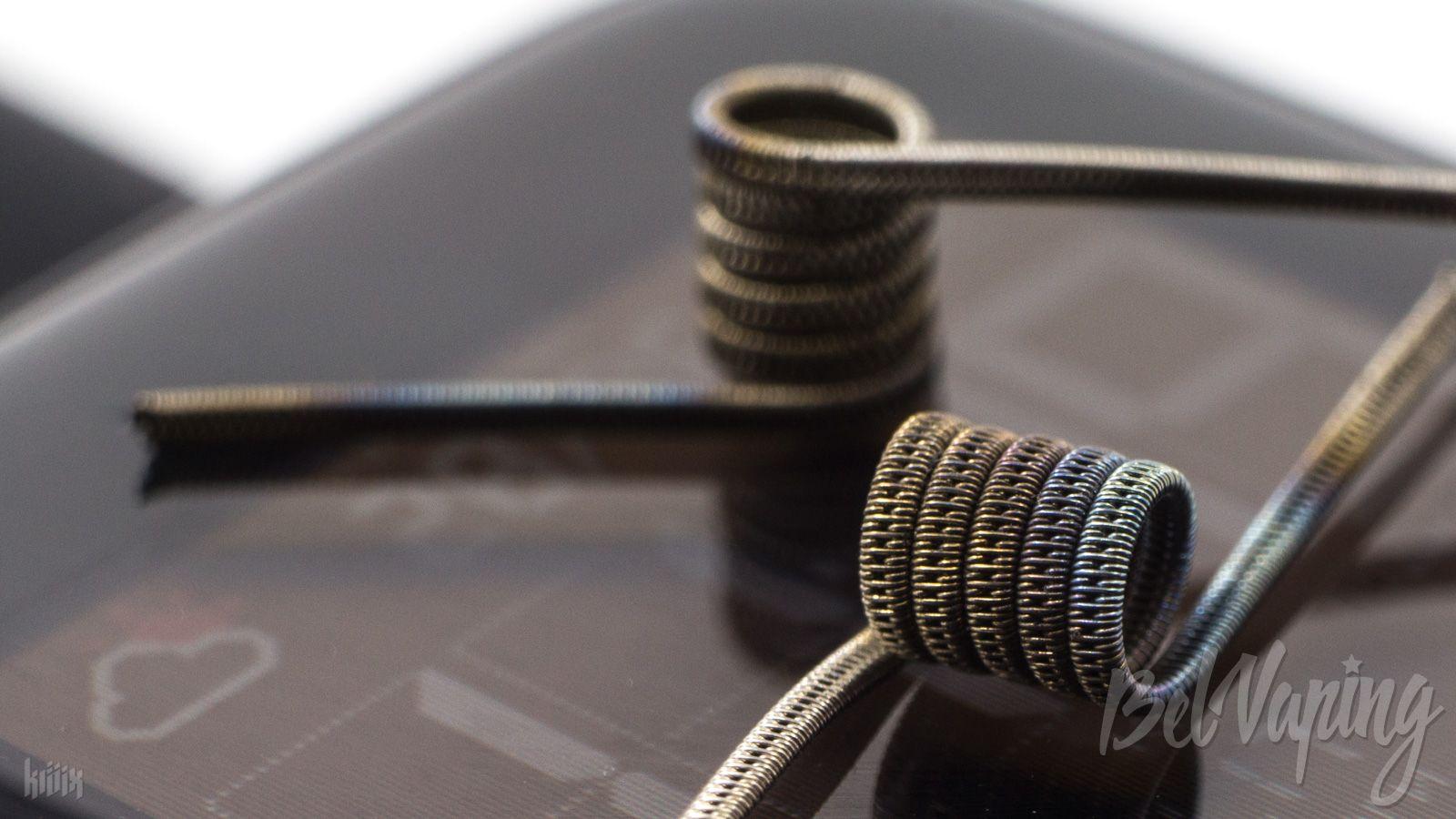 Тип спирали: Staggered Clapton Coil (стаггеред коил)