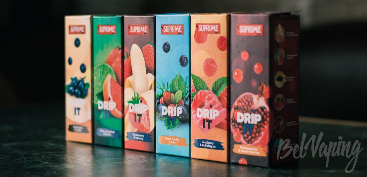 Обзор жидкости DRIP IT от Suprime Juice