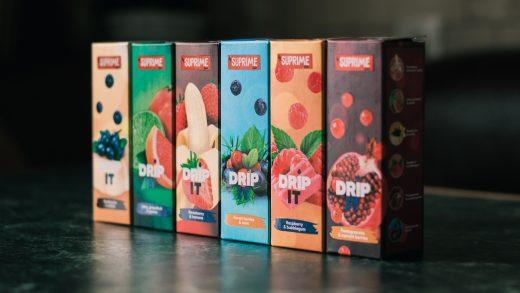 Жидкости DRIP IT от Suprime Juice