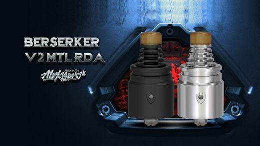 Vandy Vape Berserker V2 MTL RDA. Первый взгляд