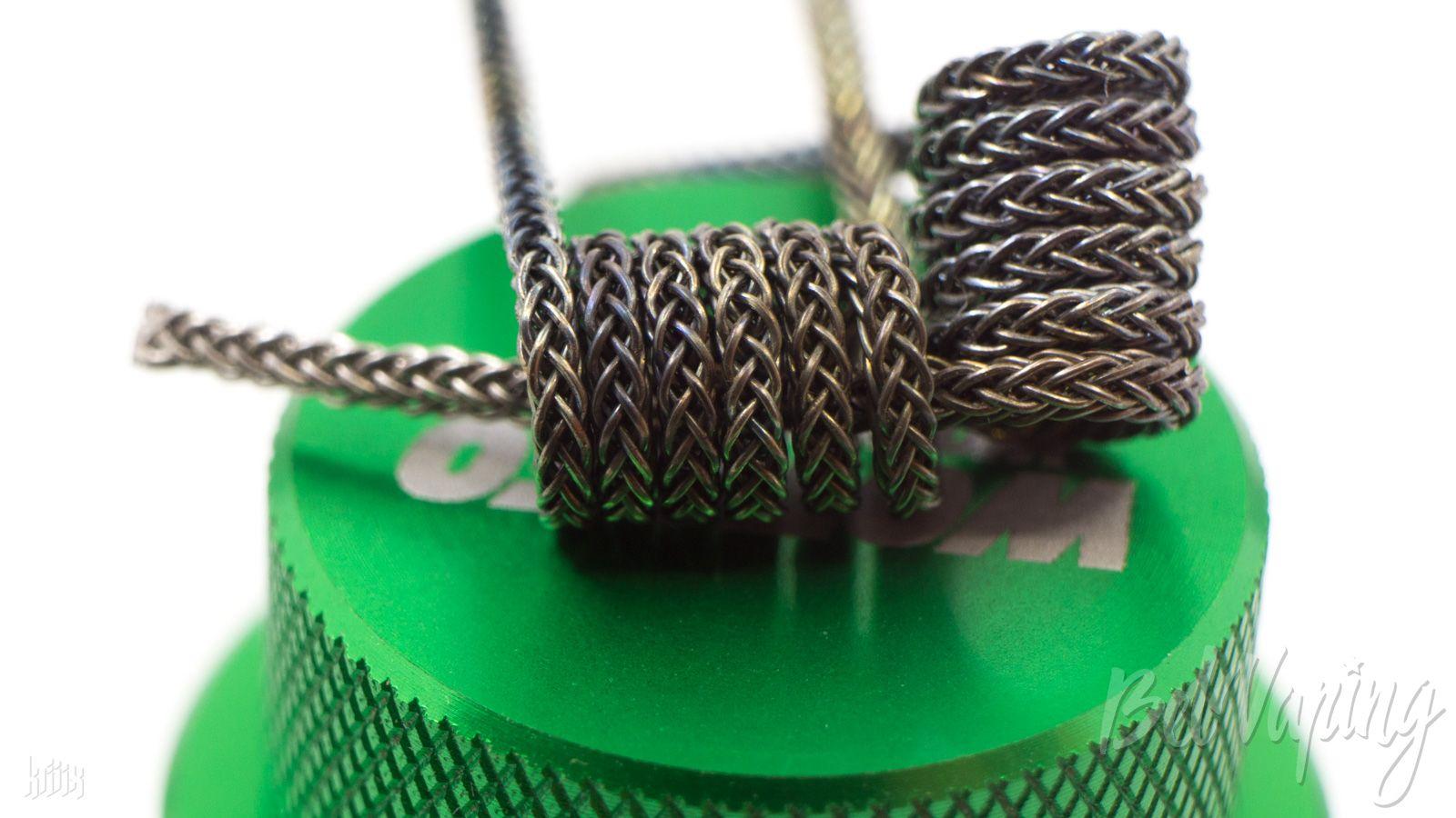 Тип спирали: Vertebraid Coil (вертибрейд)