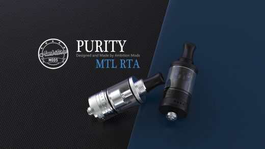Ambition Mods Purity MTL RTA. Первый взгляд