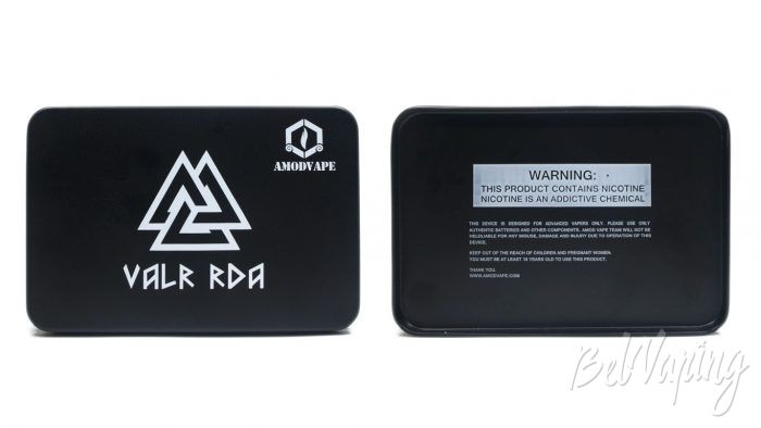 Amodvape VALR RDA - упаковка