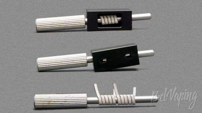 Amodvape VALR RDA - подготовка койла