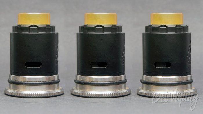 Amodvape VALR RDA - регулировка обдува