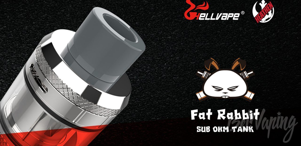 Hellvape Fat Rabbit Sub Ohm Tank. Первый взгляд