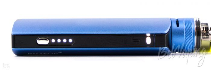 Индикация батарейного блока Justfog Q16 PRO Starter Kit
