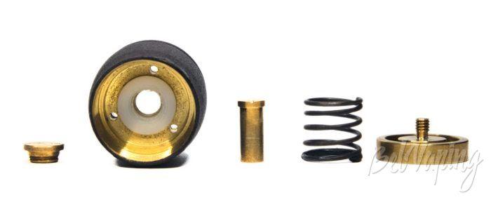 Механический мод CROWN- кнопка в разборе