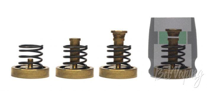 Механический мод CROWN - схема работы кнопки