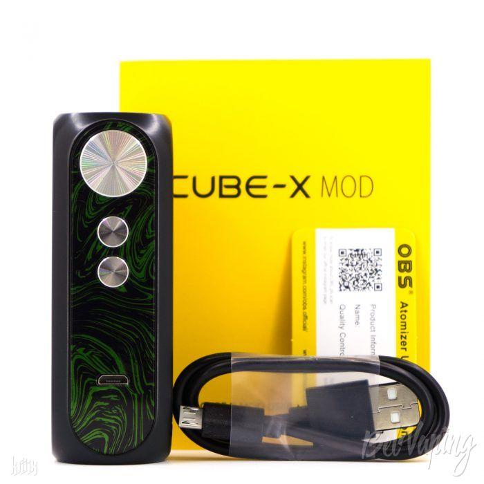 Комплектация OBS CUBE-X Mod