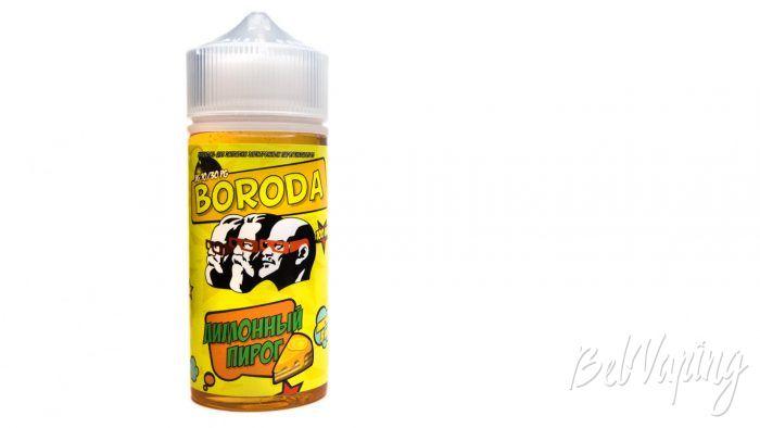 Жидкость BORODA от md TROY - вкус Лимонный пирог