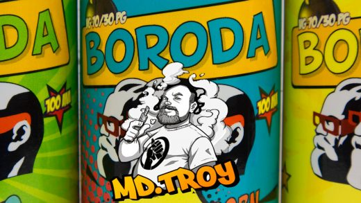 Жидкости BORODA от md.TROY и INTRUE Lab