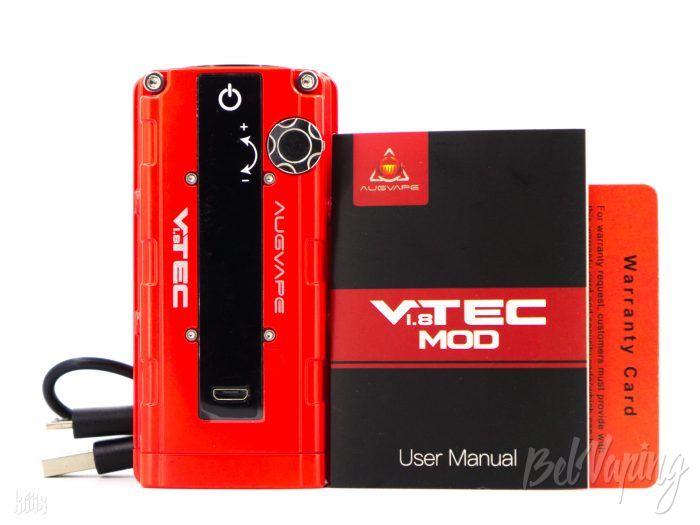 Комплектация Augvape VTEC 1.8 Mod