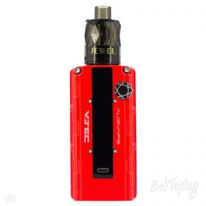 Jewel Disposable Subohm Tank (25 мм) на Augvape VTEC 1.8 Mod