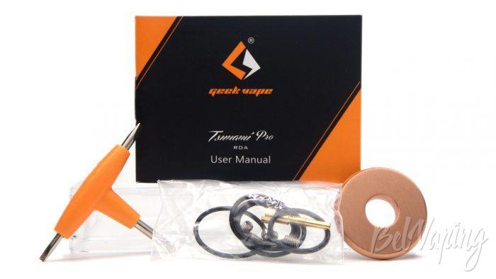 Geekvape TSUNAMI PRO RDA - допы