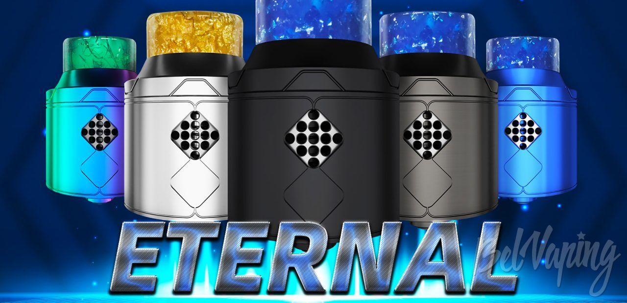 Goforvape Eternal RDA. Первый взгляд