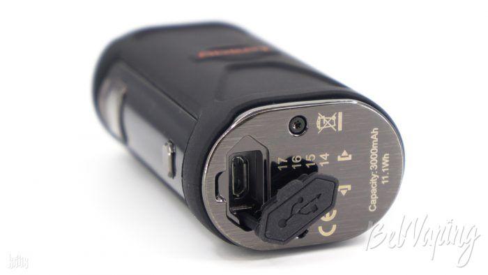 Разъем micro USB в Innokin Adept Mod