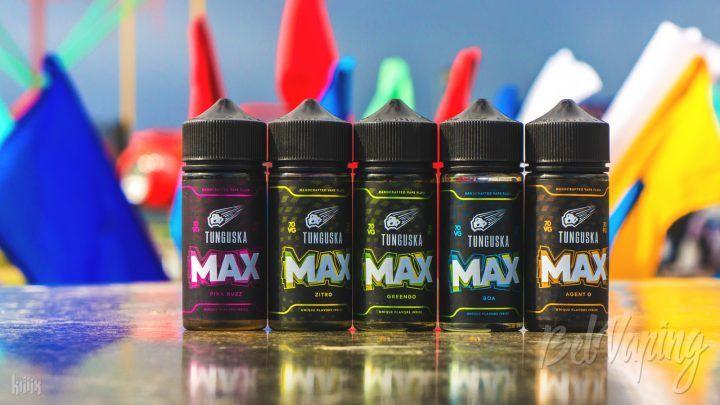 Обзор жидкости Tunguska MAX от Blackbox Liquids