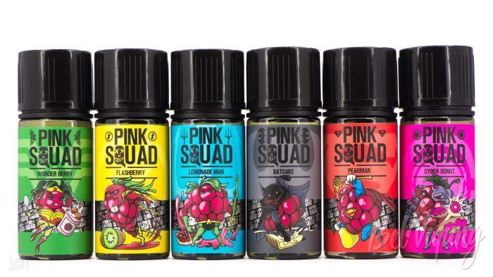 Линейка жидкости Pink Squad от Top Liquid