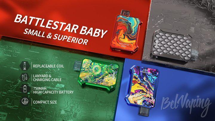 Smoant Battlestar Baby Pod. Первый взгляд